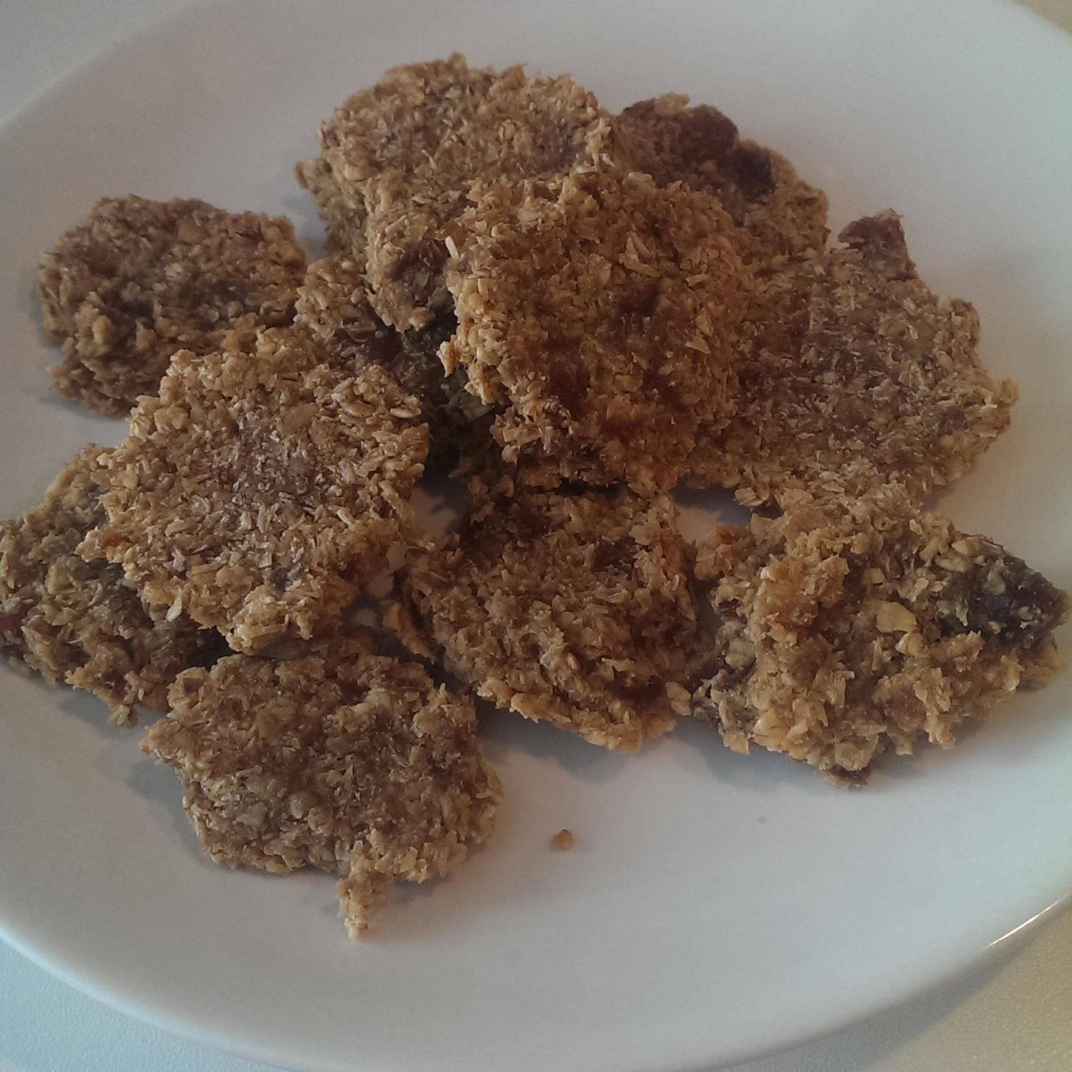Biscuiti (aproape) raw