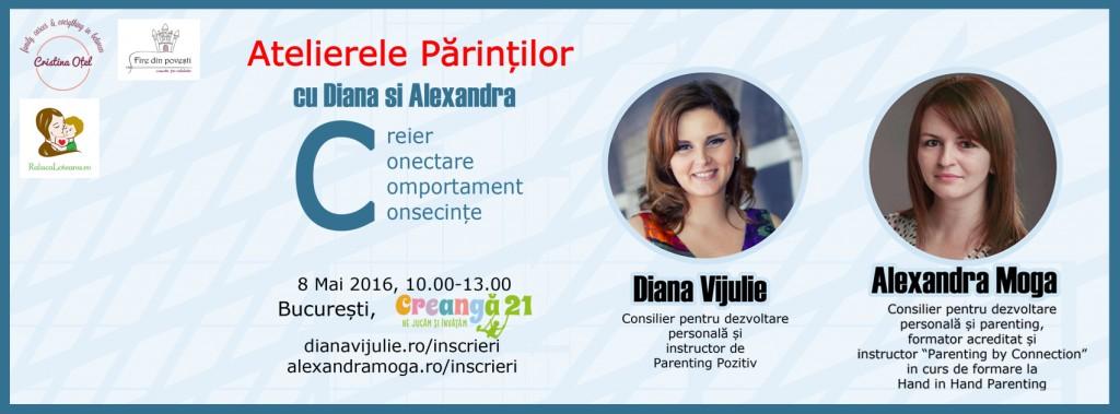 Atelierele parintilor cu Diana si Alexandra (si un concurs)