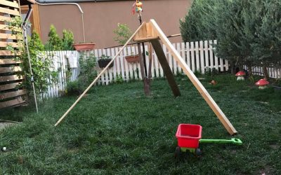 Cum am construit noi un cort pentru copii (și poze cu alte lucruri pe care le-am mai meșterit)