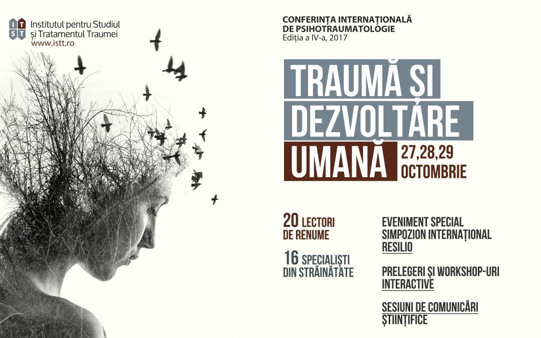 Conferința Internațională de Psihotraumatologie 2017
