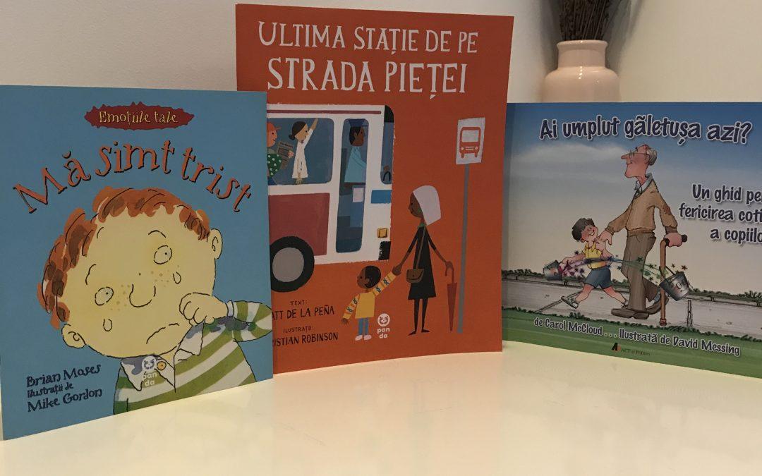 3 cărți pentru copii despre emoții și inteligența emoțională