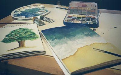Nu poți să fii o pictoriță bună când ai hârtie proastă