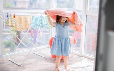 7 idei de activități cu prosoape pentru copii