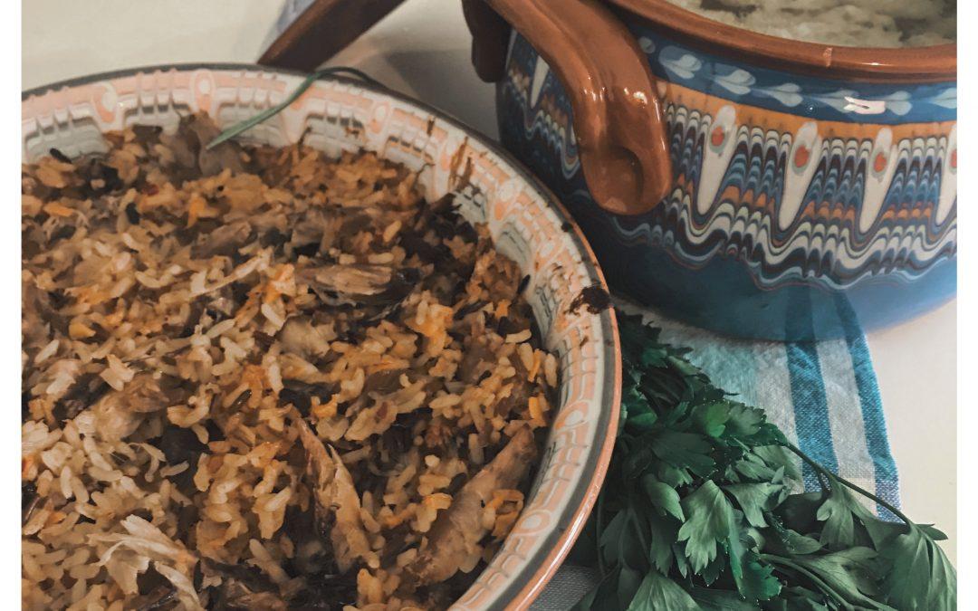 Cum gătim în 2018 – supă cu găluște și orez cu pui în 20 de minute