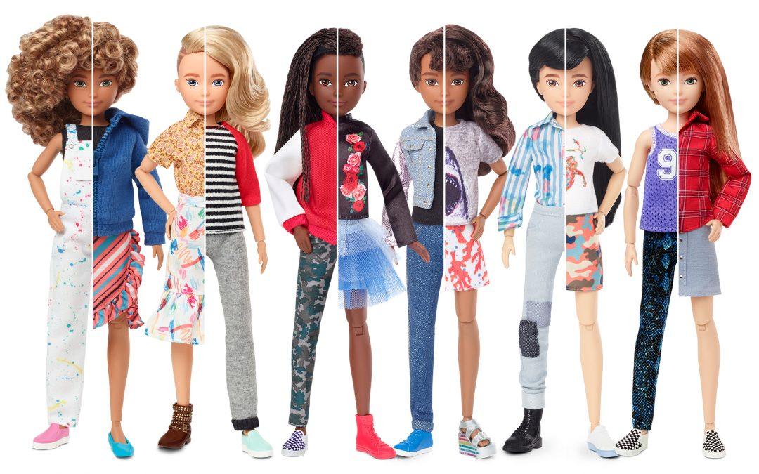 Păpuși Barbie fără sâni perfecți și picioare interminabile – în sfârșit!